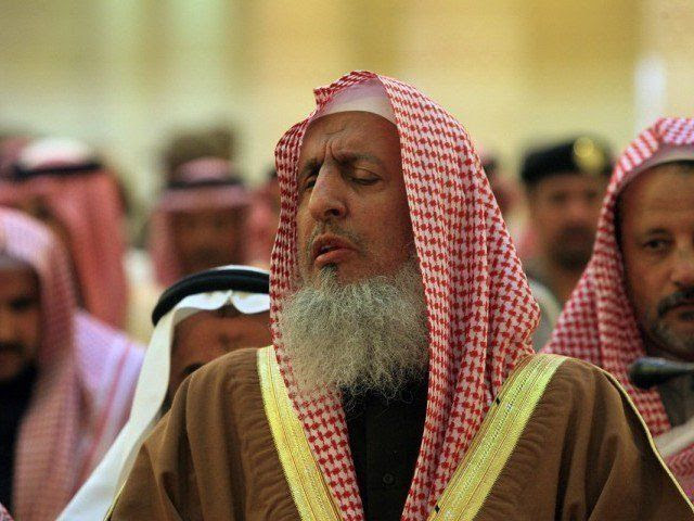 Saudi Grand Mufti Sheikh Abdul Aziz. PHOTO: AFP
