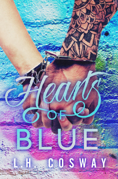 Kindle Book Hearts of Blue by L.H. Cosway - Cover Reveal  Free Download