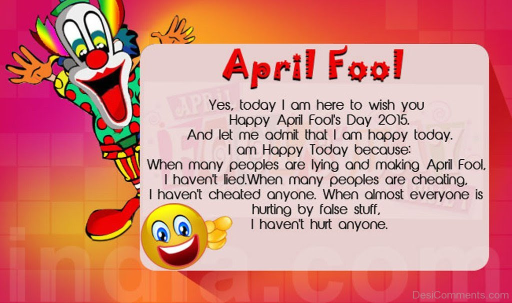 April Fool\u2019s Day Pictures, Images, Graphics for Facebook, Whatsapp  Page 4