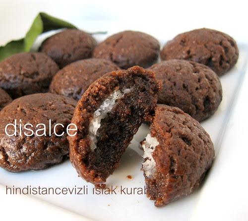 hindistan cevizli ıslak kurabiye