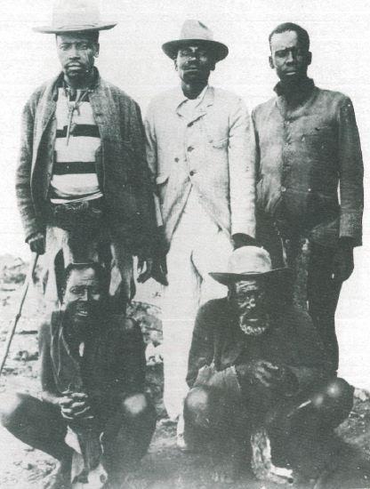 8 Ndebele chiefs