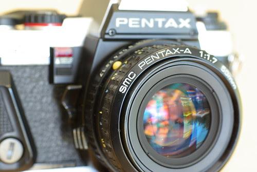Pentax A 50 f/1.7 lens
