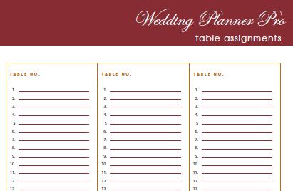 Free Printable Wedding Planner Book Pdf | room surf.com
