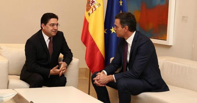 Crisis diplomática enmudecida entre España y Marruecos en torno al Sáhara Occidental.