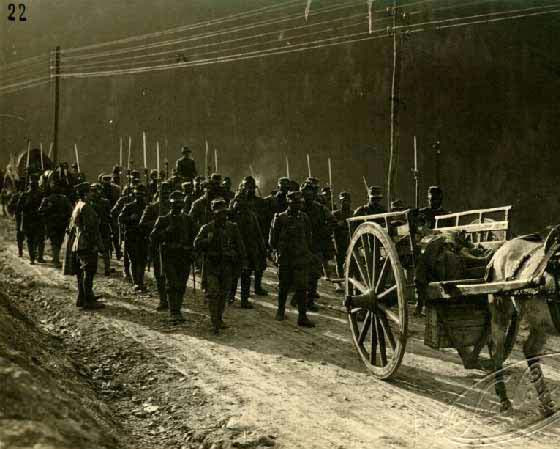 Italy, Doberdo, First World War: Prisoners of the Austro-Hungarian Army