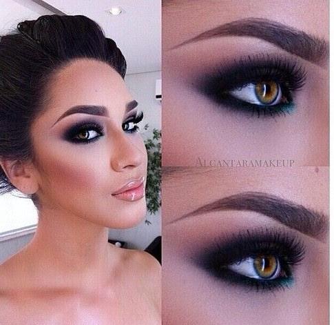 Bold & Beautiful Black Smokey Eyes Makeup Tutorial Step by ...