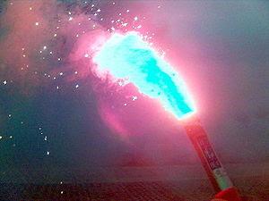 Polish Navy emergency flare