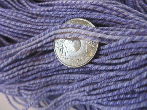 hyacinth strands with quarter