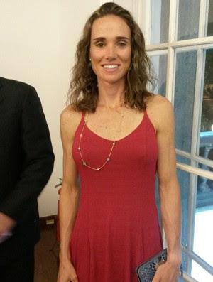Fabiana Beltrame não é otimista quanto ao desempenho do remo brasileiro nas Olimpíadas (Foto: Fabio Leme)