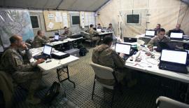 El Cuartel General de la Brigada Logística alcanza la Capacidad Operativa Inicial.
