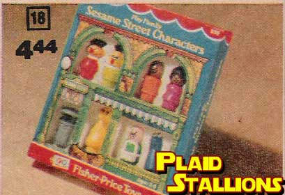 the fisher price sesame street little people