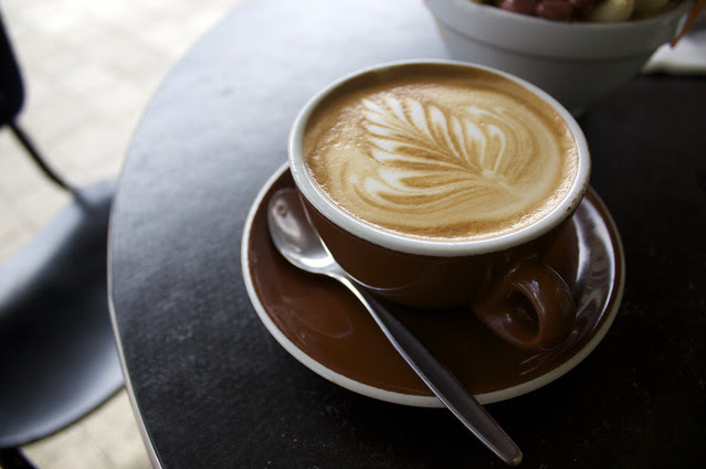 Flat White coffee. Photo by russelljsmith @ Flickr