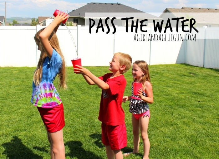 pass the water (summer game)
