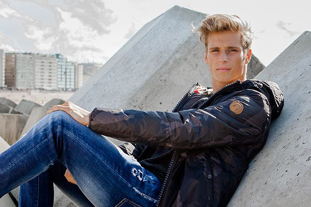 Nicolas Demunter Model Style