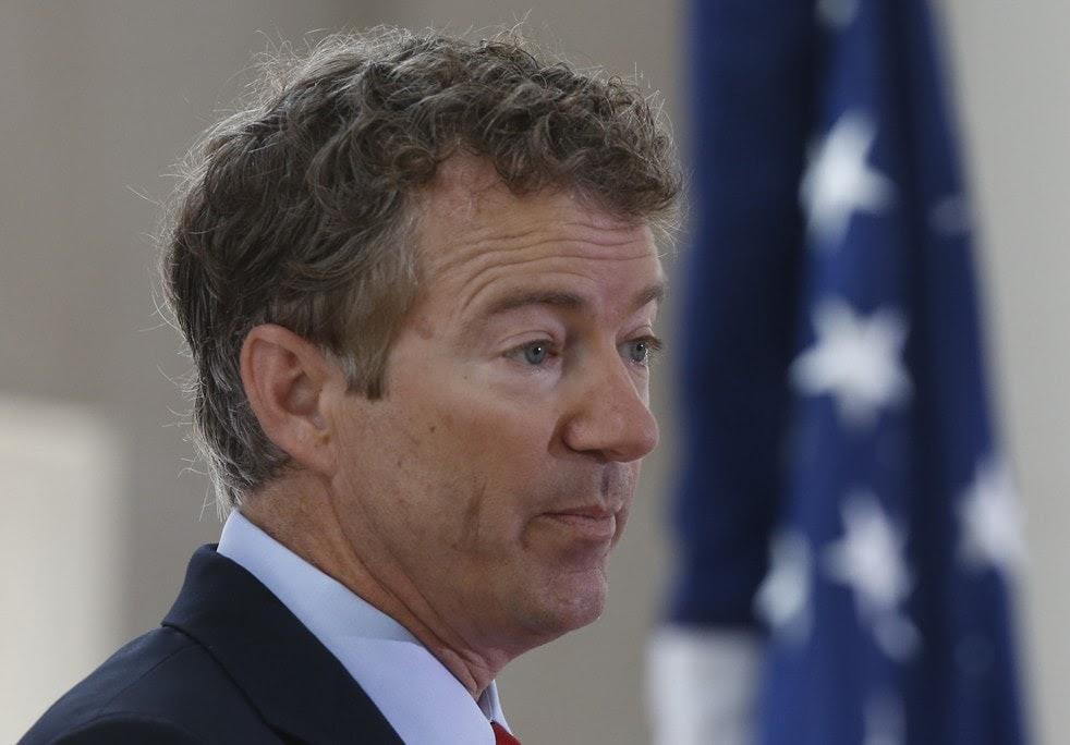 Senator Rand Paul continues to fascinate. AP photo.