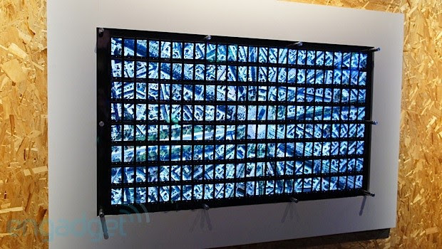 Visualized The Lumia wall at Build 2013