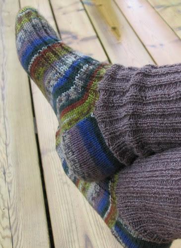 Sokker med ny fot