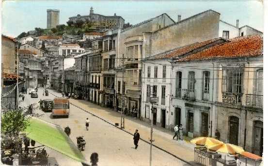 Resultado de imagen de Casco histórico de Monforte de Lemos