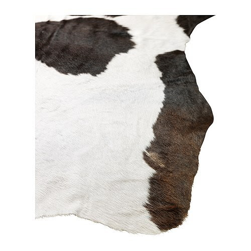 KOLDBY Cow hide, assorted patterns Max. area: 4.50 m² Min. area: 3.20 m²
