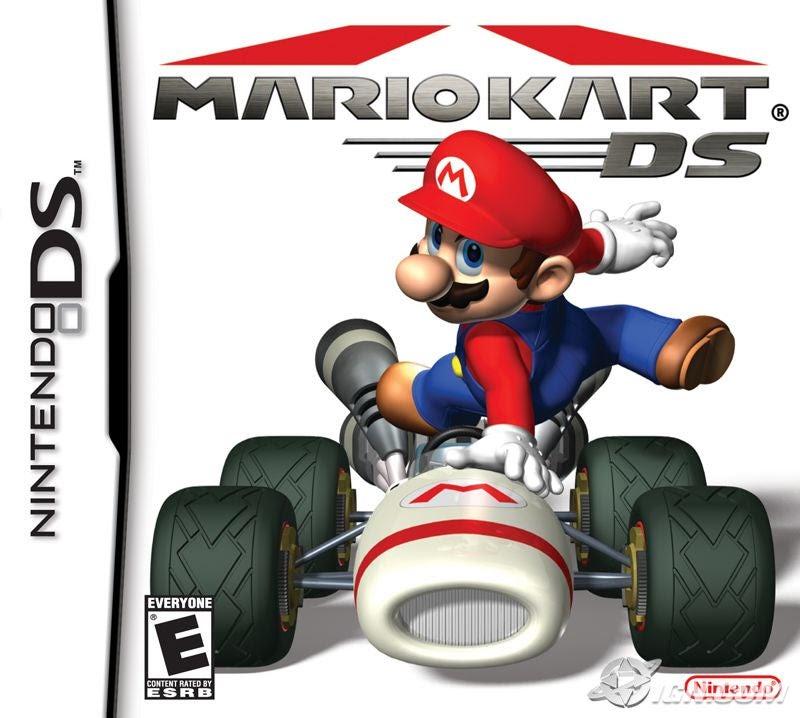 Mario Kart DS box art