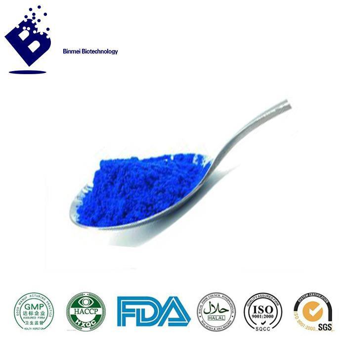 China Spirulina Blue Powder Pigmen Biru Alam Makanan Mewarnai