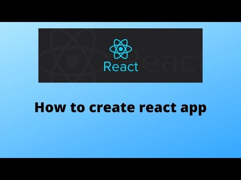 How to create a react app from scratch