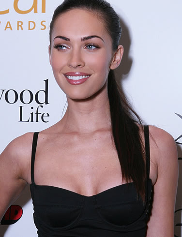 megan fox makeup look. Re: Megan Fox#39;s Make-Up