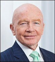 Mobius: «Ευκαιρία του αιώνα» η Ρωσία-«Το πρόβλημα είναι οι κυρώσεις»