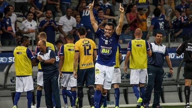 Ceará marcou belo gol no duelo direto diante do Coritiba, no Mineirão