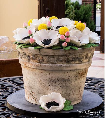 Antique Flower Pot Cake   Paul Bradford Sugarcraft School