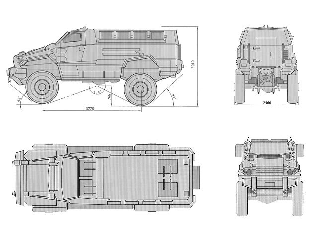 Malaysia royal police special force armour personal carrier mrap typhoon the blueprint of mrap typhoon malvernweather Choice Image