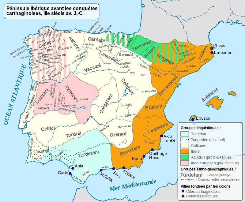 Iberia 300BC-fr.svg