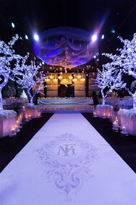 Dubai Wedding in a Winter Wonderland   Wedding Ceremony Ideas