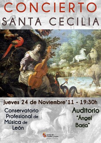 CONCIERTO SANTA CECILIA - CONSERVATORIO DE LEÓN - 24.11.11 by juanluisgx