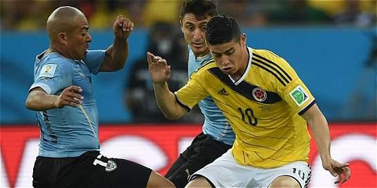 En fotos: La histórica victoria de Colombia frente a Uruguay