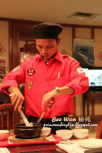 Bee Won Korean Restaurant service