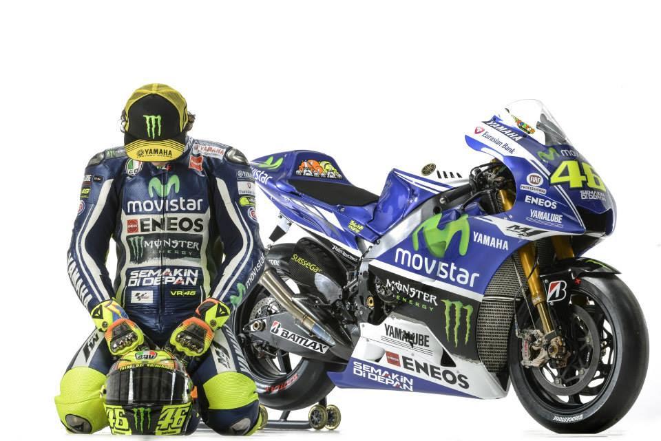 Yamaha MotoGP 2014 … Valentino Rossi 46 dan Lorenzo 99 [ foto