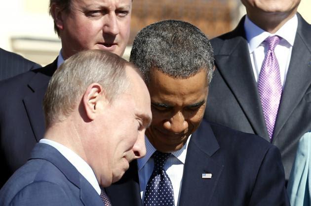 Ομπάμα - Πούτιν σε πορεία σύγκρουσης για τη Συρία - Συναντηθήκαμε και διαφωνήσαμε