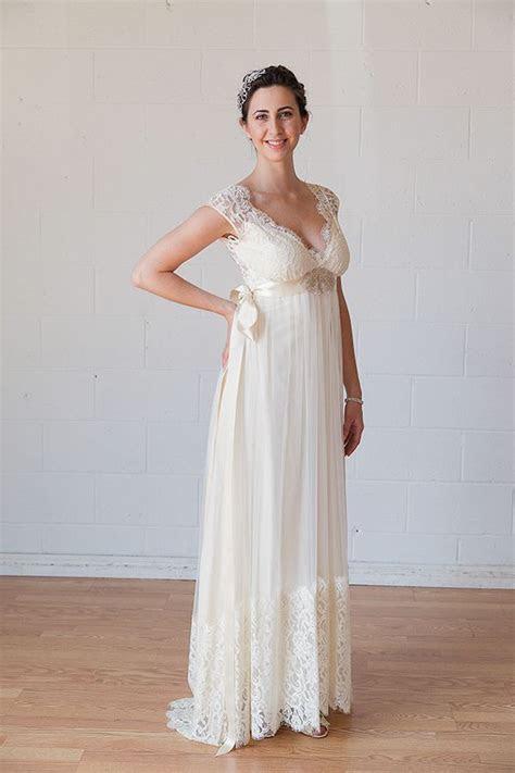 Claire Pettibone   Queen Anne's Lace   boho wedding dress