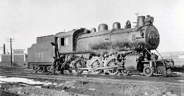 Past: This train is of a similar make to the one that crashed into the lake