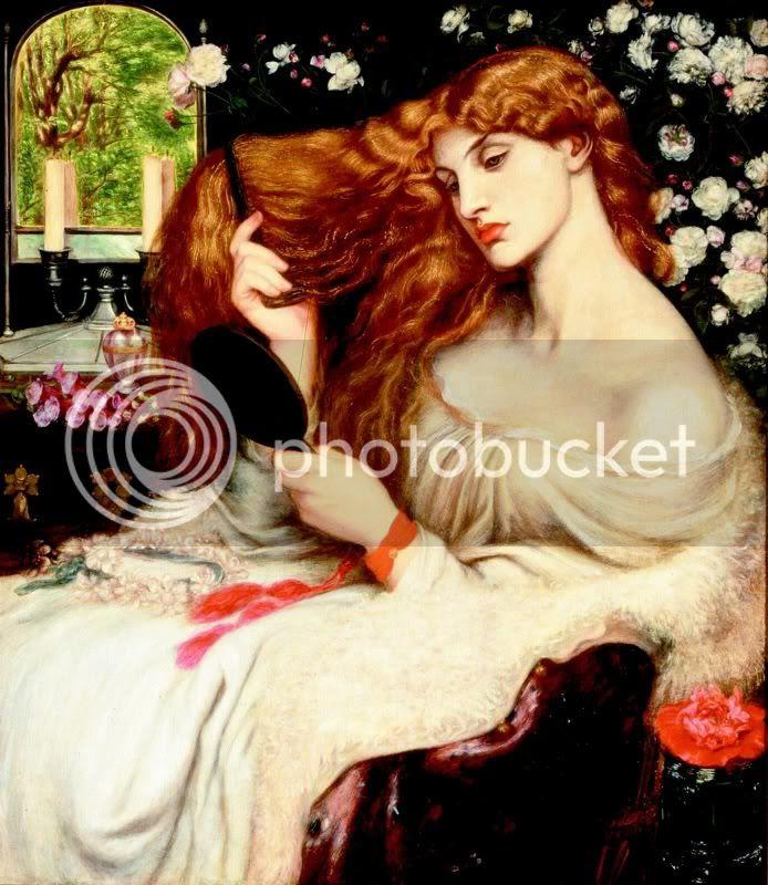 lady lilith by gabriel rossetti