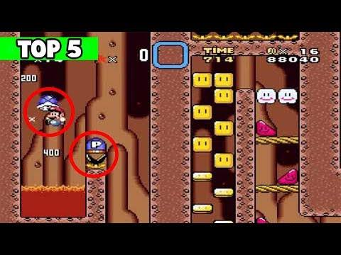 Top 5 Niveles Más Difíciles Super Mario World
