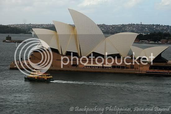 Sydney Opera House from the Rocks