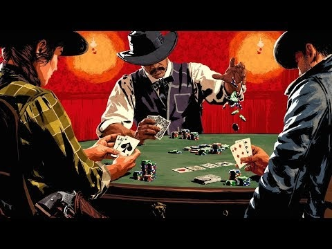 RED DEAD REDEMPTION 2 Walkthrough Gameplay PS4 (PLAYING POKER)