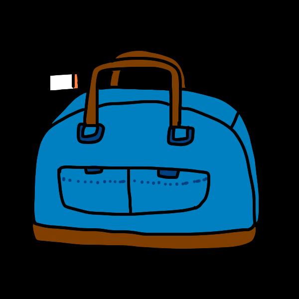 旅行かばん2のイラスト かわいいフリー素材が無料のイラストレイン