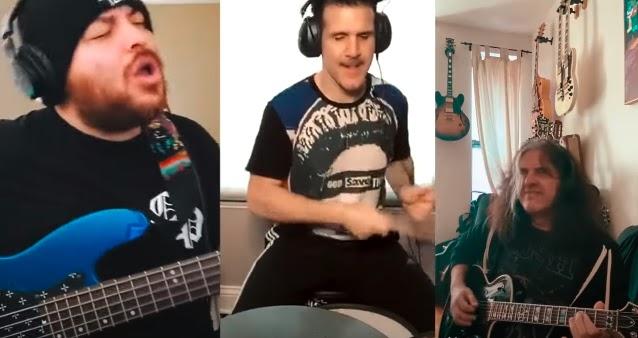 Alex Skolnick, Charlie Benante y Ra Diaz tocan otro cover a Rush