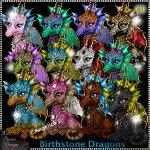 Birthstone Dragons - CU