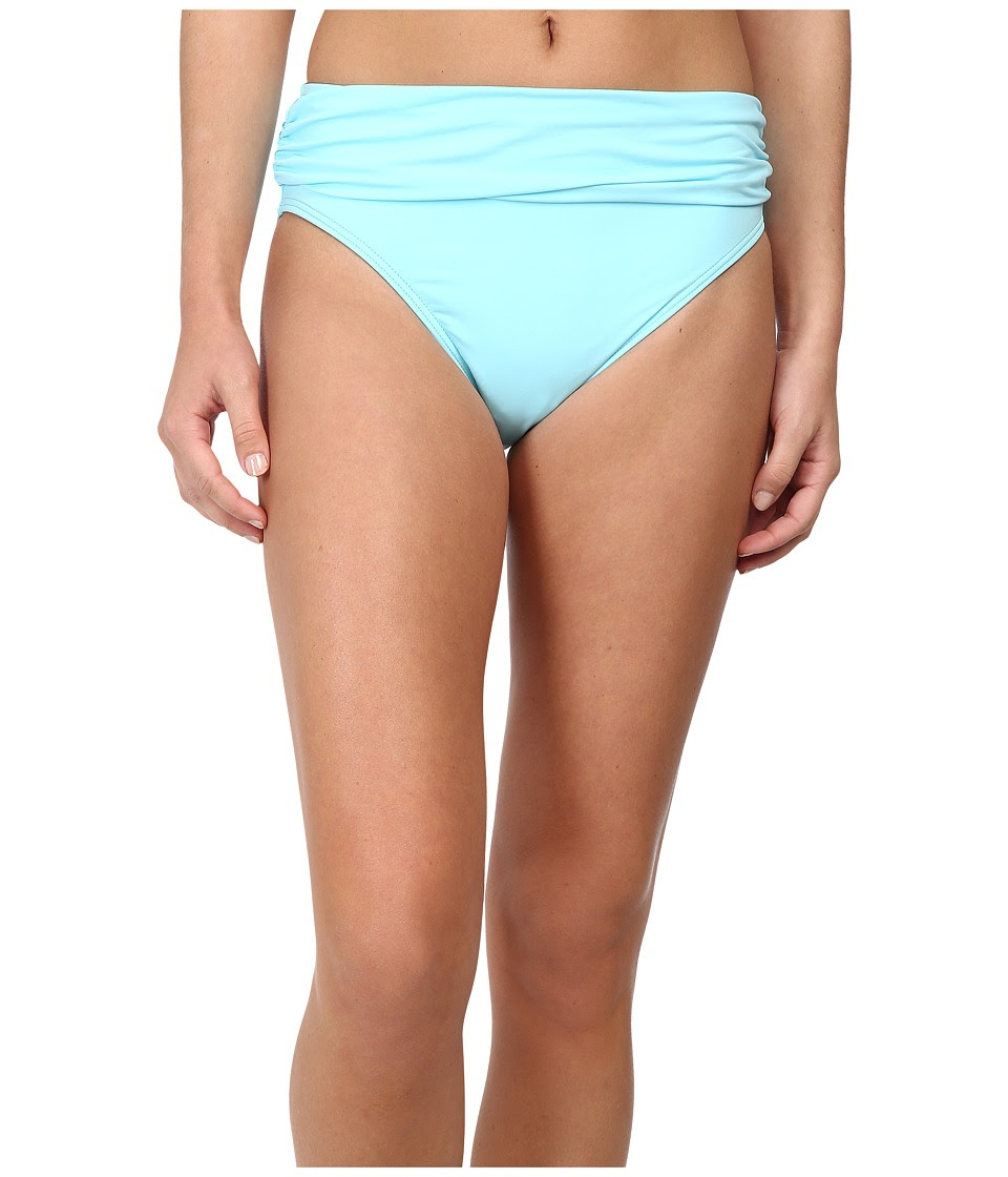 Tommy Bahama - Pearl Solids High Waist Sash Pant (Swimming Pool) Women's Swimwear