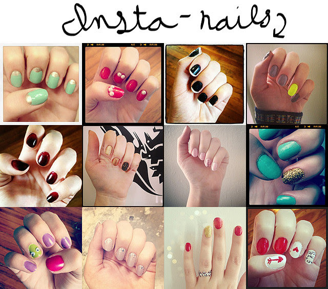 Instagrammed nails
