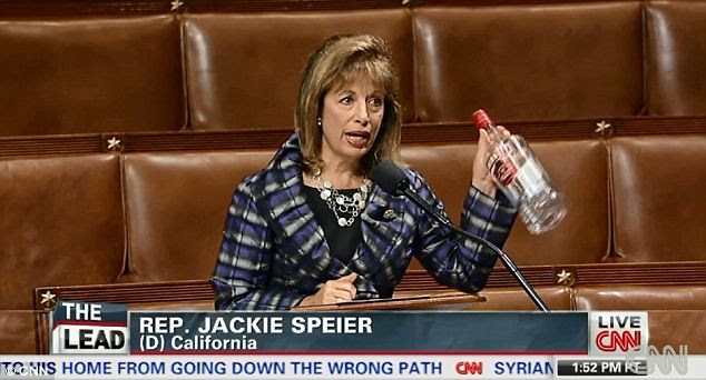 Congresswoman Schools Republicans On Their Food Stamp Hypocrisy Using Steak, Vodka, And Caviar (Video)